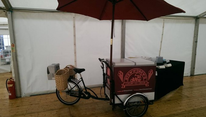 Picture of ice cream bike